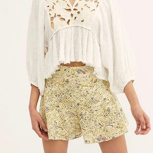 Free People Eyelet Shorts